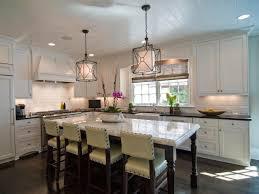 traditional white kitchen design black wood island furniture also