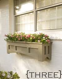 Wooden Planter Box Plans Free by Ten Diy Window Box Planter Ideas With Free Building Plans