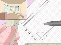 Drawing A Floor Plan How To Transform A Child U0027s Room Into A Teenager U0027s Room 12 Steps