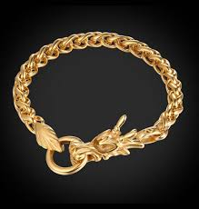 bracelet dragon images Tibetan goldplated dragon bracelet jpg