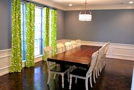 Accessories Personable Dining Room Curtains Design And Ideas For