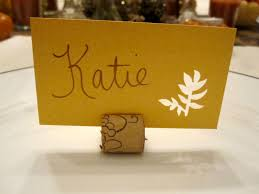thanksgiving table place cards my thanksgiving table six twists