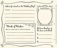 bridal shower guest book bridal shower guest book template the guestbook scrapbook