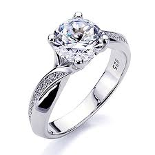 diamond prices rings images Platinum plated sterling silver 2ct round cz solitaire bypass jpg