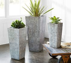 patio u0026 outdoor planters pottery barn