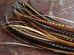 feathers for hair sale hair feather extensions black brown grizzly mix