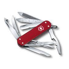 victorinox minichamp alox red swiss army knife