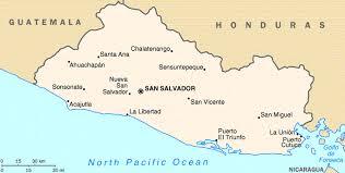 geographical map of guatemala el salvador factbook