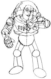draw buzz lightyear toy story 1 2 3 easy