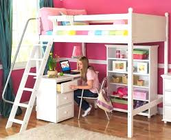 Diy Loft Bed With Desk Bunkbed With Desk With Desk Metal Frame Bunk Bed Interior Design