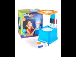 discovery toy drawing light designer discovery kids wall and ceiling art projector with markers youtube