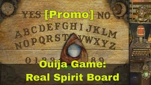 promo ouija game real spirit board the awesome spooky party