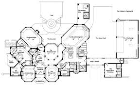 chateau floor plans chateau beaujolais 4429 5 bedrooms and 5 baths the house designers
