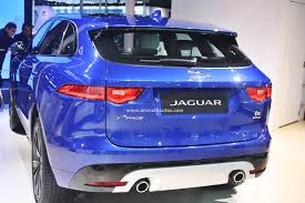 jeep jaguar all new jaguar f pace suv debuts in india at the 2016 auto expo