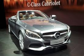convertible mercedes 2015 geneva launch for stylish new mercedes c class cabriolet auto