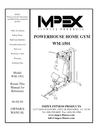 wm 1501 manuals users guides