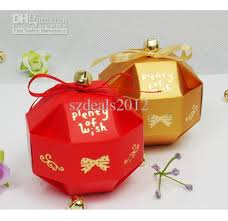 unique boxes unique lantern pattern wedding candy box with wrap ribbon wedding