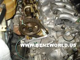 mercedes timing chain mercedes 560 engine timing chain guide replacement photos