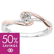 rose promise rings images Promise rings diamond bridal sets ann louise jewellers jpg