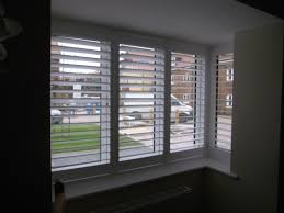 square bay window shutter 4 panels hidden tilt rod silent garden