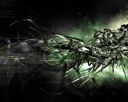 firm black lines like a robot 3d u0026 abstract wallpapers