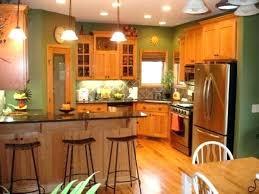 Oak Kitchen Cabinets And Wall Color Honey Oak Kitchen Cabinets Kitchen Paint Colors Pictures With Oak