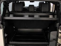 jeep africa interior jeep wrangler jku 4 door cargo storage interior rack by front runner