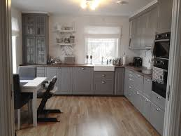 Gray Kitchens Bittelillevilla Kjøkken Pinterest Bodbyn Grey Ikea Ikea And