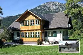 style house canapé style house canape zebau carpentry before after comparision austria