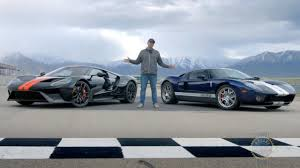 ford 2017 ford gt vs 2005 ford gt youtube