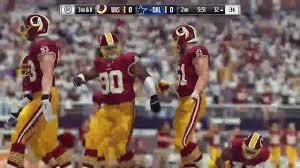 thursday night football thanksgiving thanksgiving day game simulation washington redskins dallas