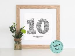 ten year anniversary gifts 10 year anniversary gift ideas