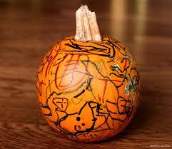 Decorate Pumpkin Sharpie Pumpkins