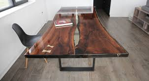 epoxy table top resin live edge tables nabla furniture