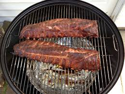 smoking amazing ribs with a weber smokey mountain wsm