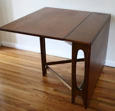 dining tables butterfly drop leaf table with 4 foldable chairs
