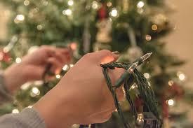 fixing christmas tree lights checking and repairing christmas lights
