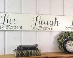 home decor love live laugh love sign etsy