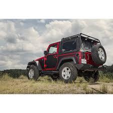 jeep lifestyle rugged ridge 12300 52 magenetic body protection panel black 07