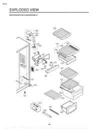lg refrigerator wiring diagram lg refrigerator installation guide