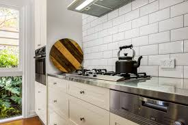 traditional country kitchen design brisbane with stainless steel