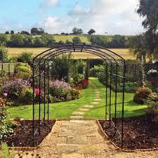 agriframes steel pergolas 4 u0027 to 10 u0027 widths available garden