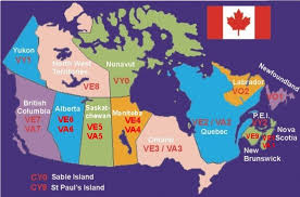 regions of canada map zones and regions