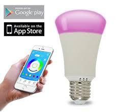 smart light bulbs amazon bluetooth smart led light bulb e27 rgbw color lights 40 https