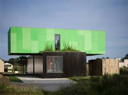 18 puzzling buildings with architectural designs the crossbox house from shipping containers green