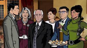 archer cartoon archer s 1 e 6 skorpio video dailymotion