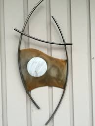 Home Sculpture Decor Best 25 Abstract Metal Wall Art Ideas On Pinterest Metal Wall