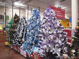 trees walmart lights decoration