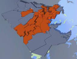Boston Neighborhoods Map by Neighborhoodx Boston 3d Pricing Map