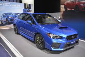 subaru impreza wrx 2018 2018 subaru wrx and wrx sti debut in detroit autoevolution